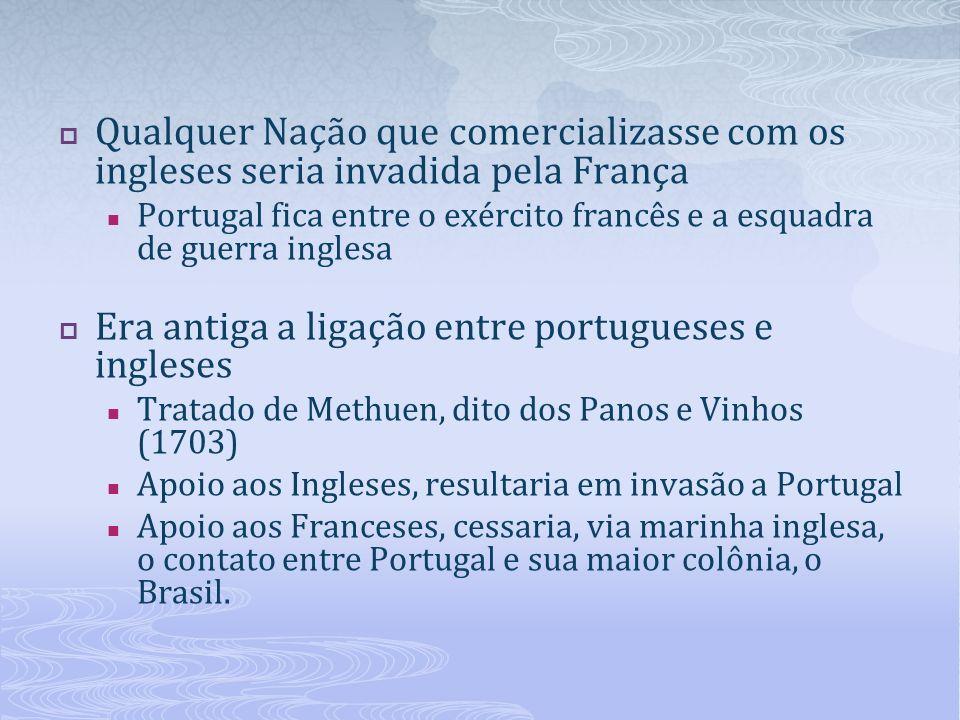 Era antiga a ligação entre portugueses e ingleses
