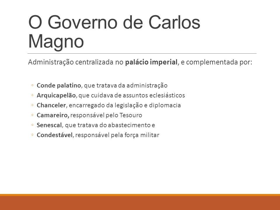 O Governo de Carlos Magno