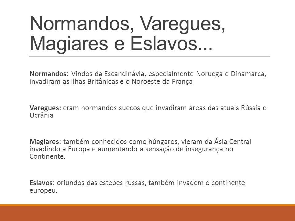 Normandos, Varegues, Magiares e Eslavos...