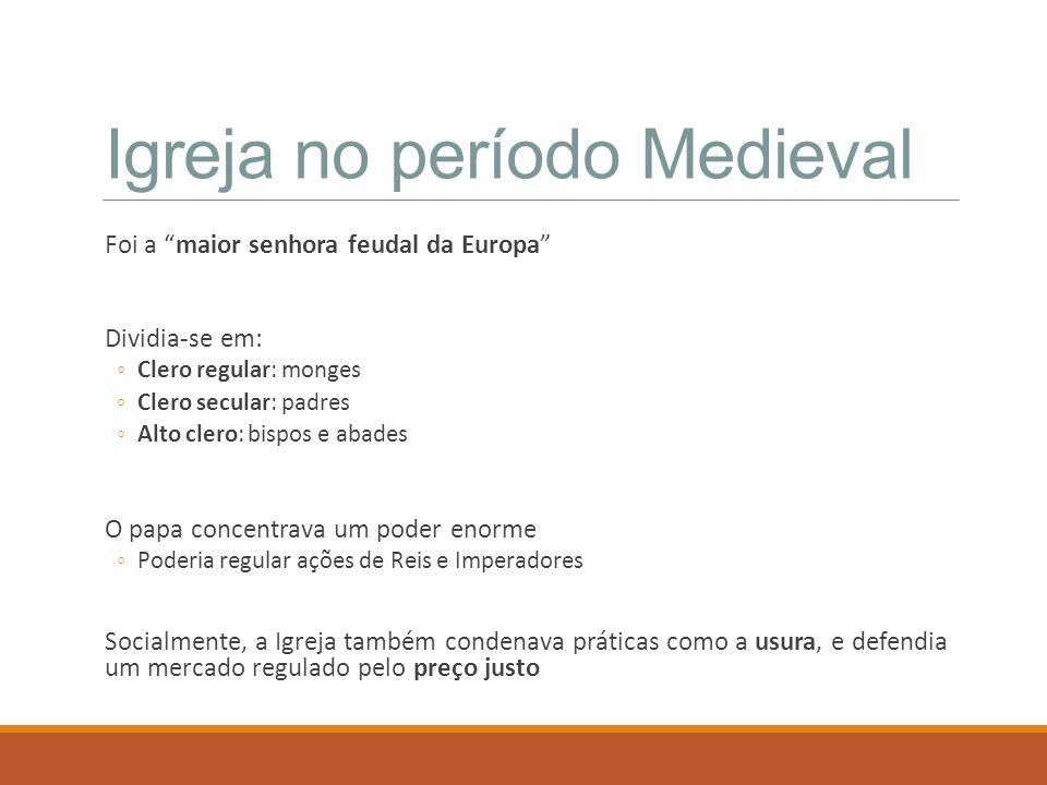 Igreja no período Medieval