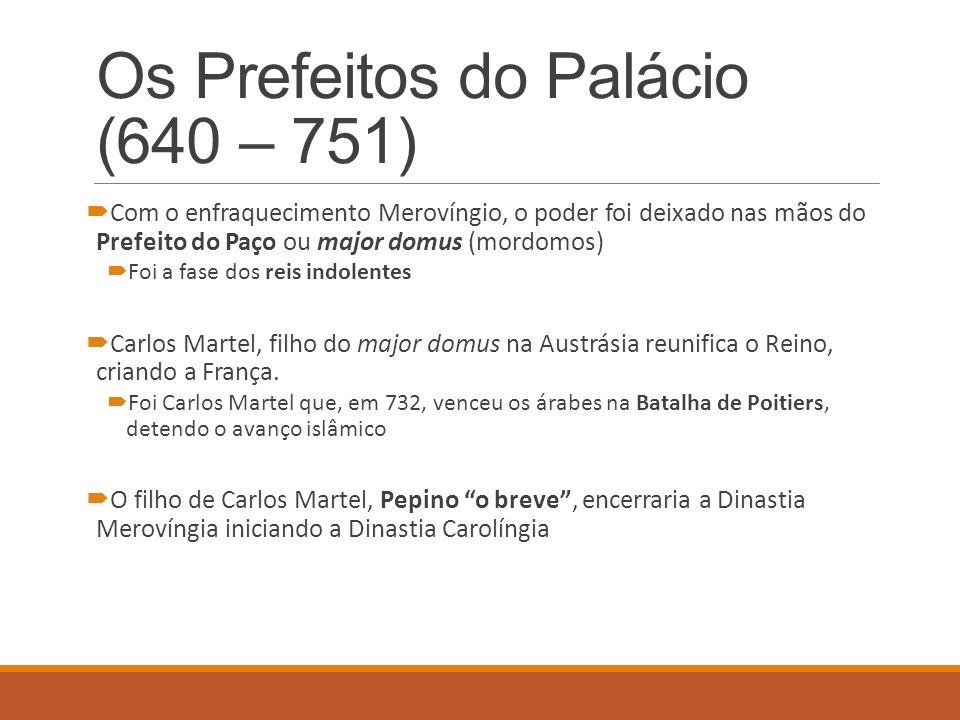 Os Prefeitos do Palácio (640 – 751)