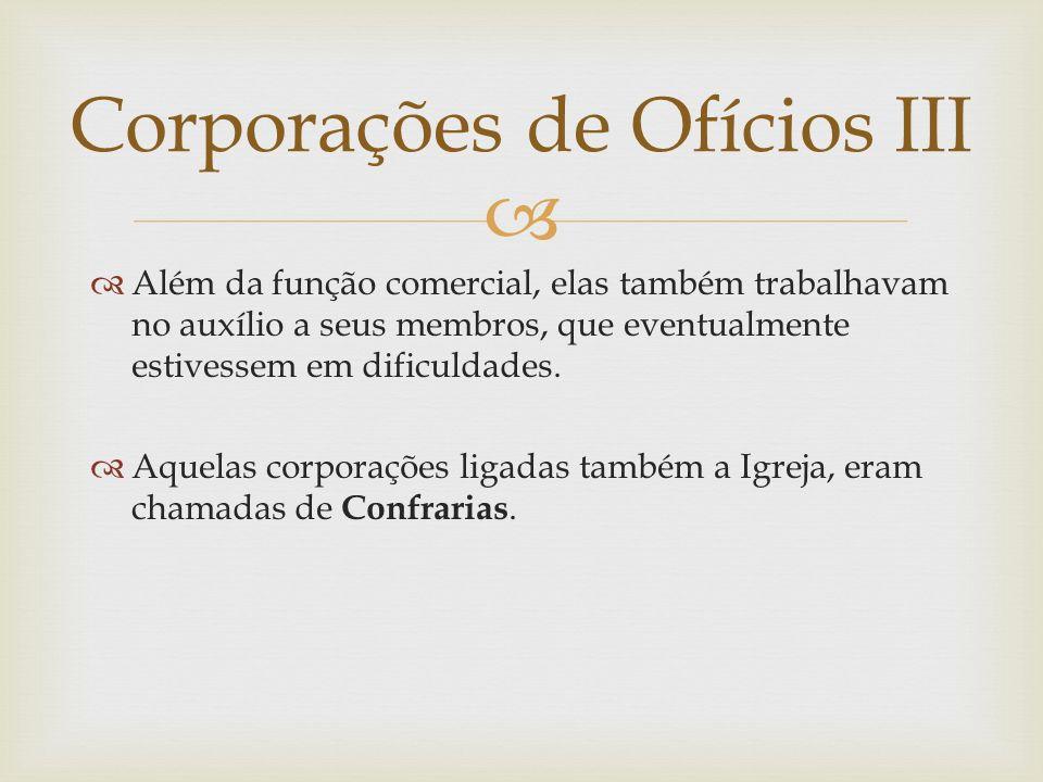 Corporações de Ofícios III
