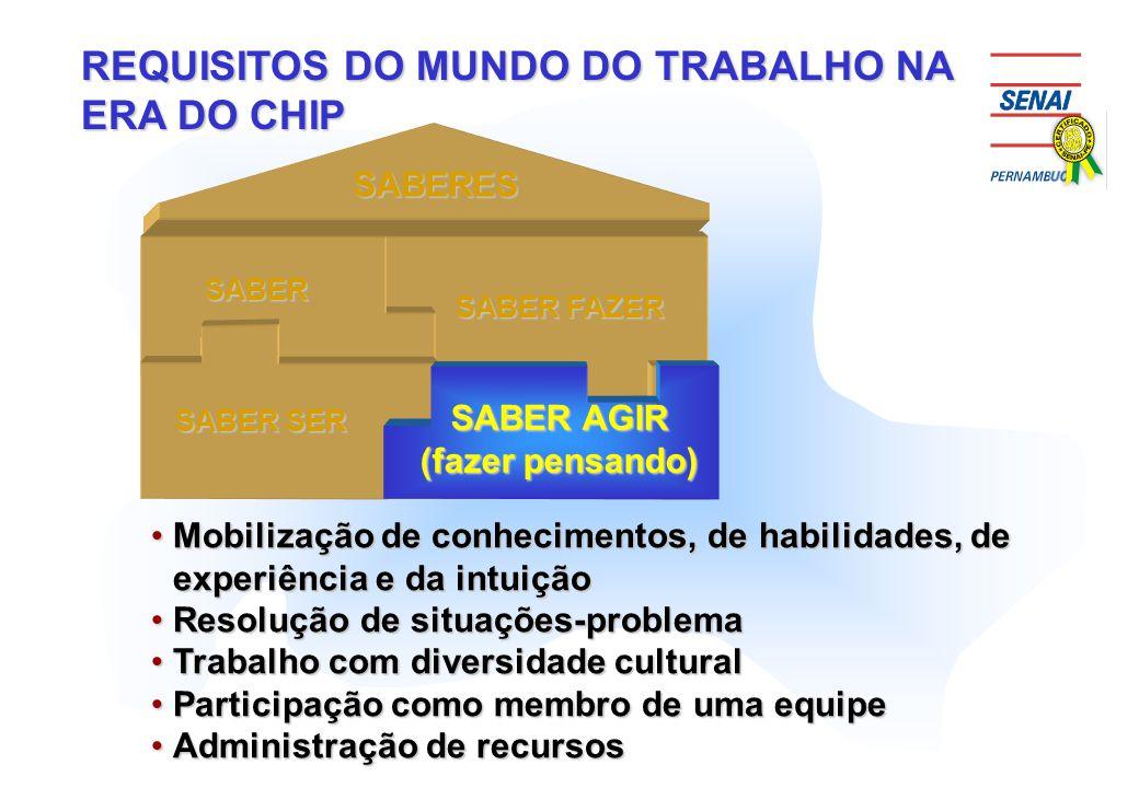 REQUISITOS DO MUNDO DO TRABALHO NA ERA DO CHIP