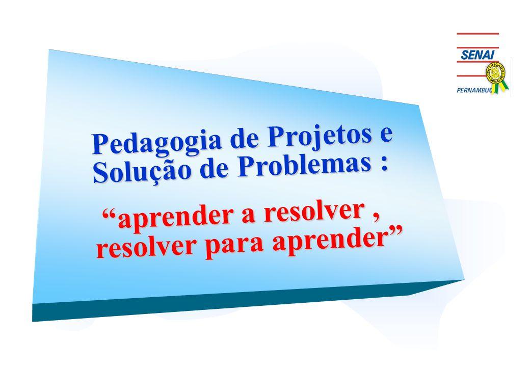 Pedagogia de Projetos e Solução de Problemas :