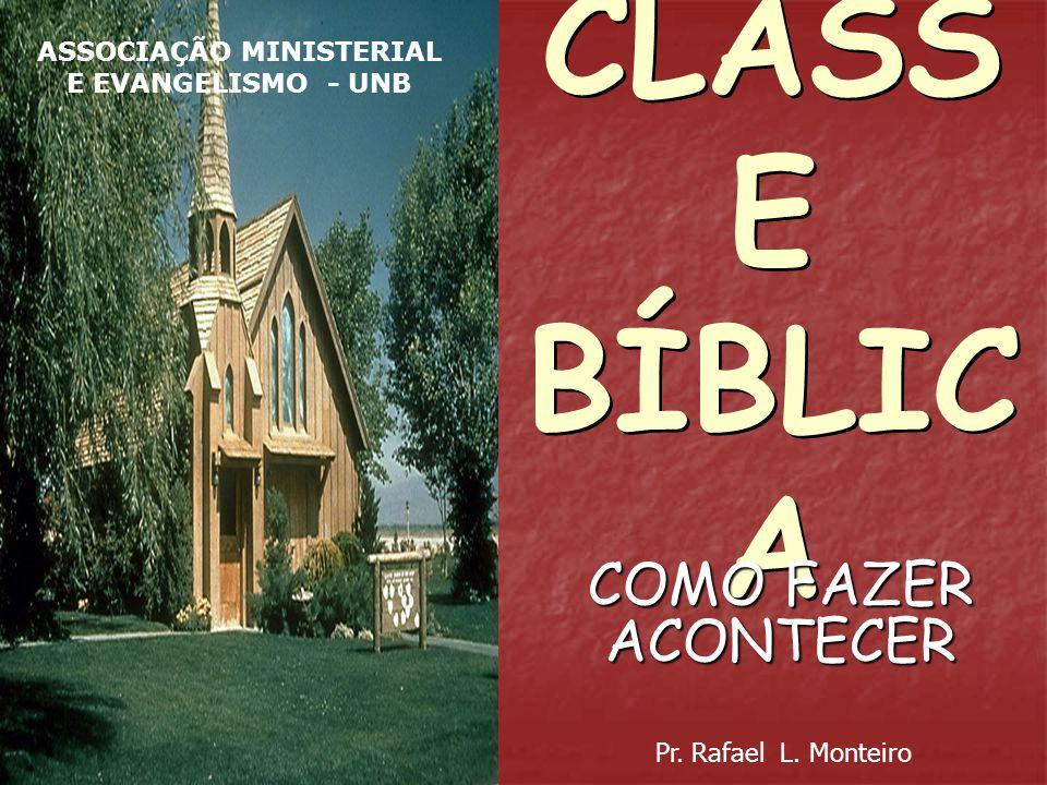 ASSOCIAÇÃO MINISTERIAL E EVANGELISMO - UNB