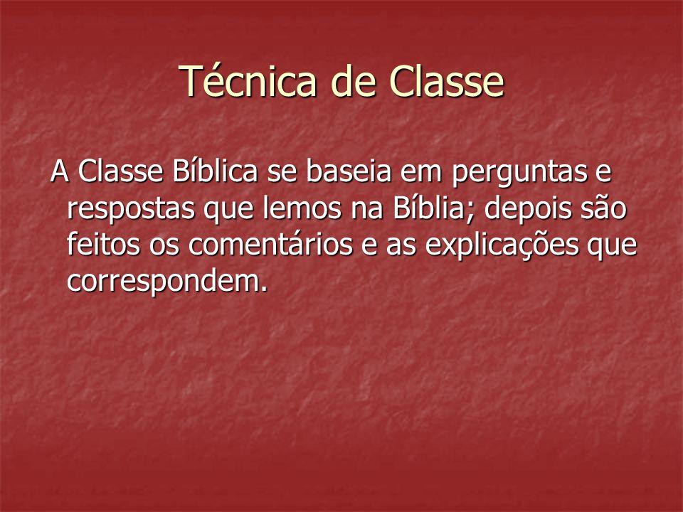Técnica de Classe