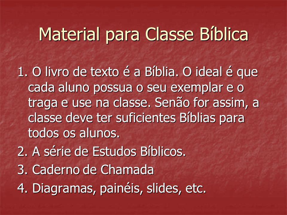 Material para Classe Bíblica