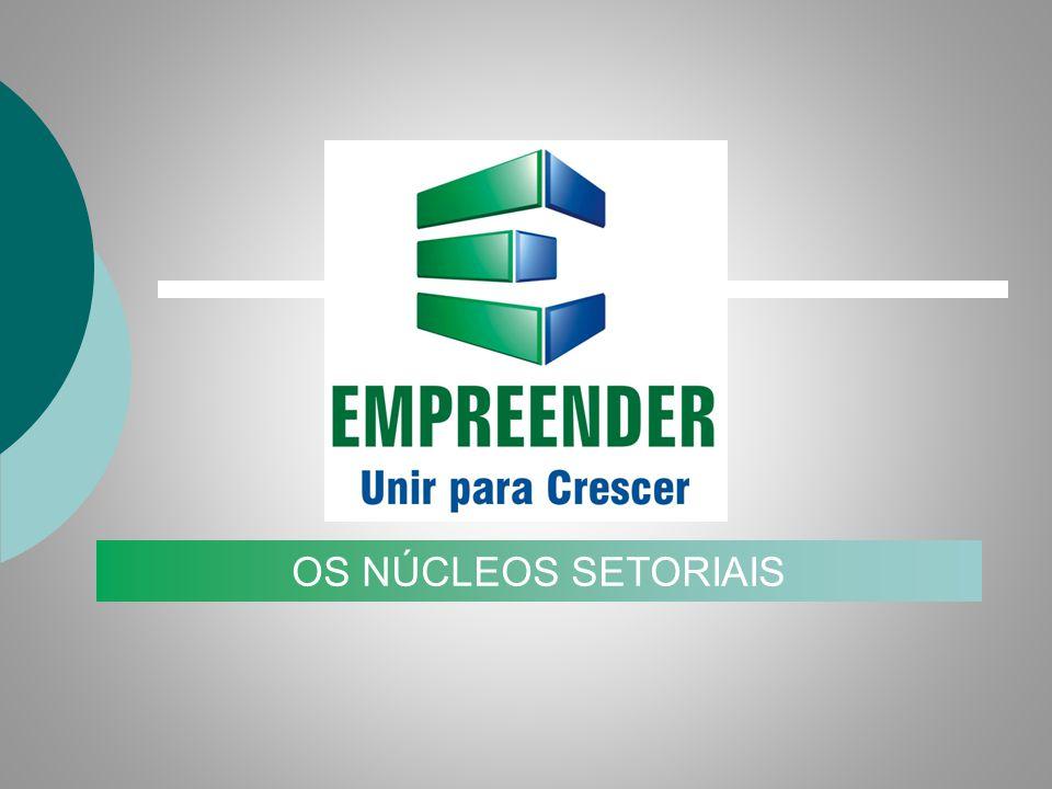EMPRENDER Unir para crecer EL PROGRAMA EMPRENDER OS NÚCLEOS SETORIAIS