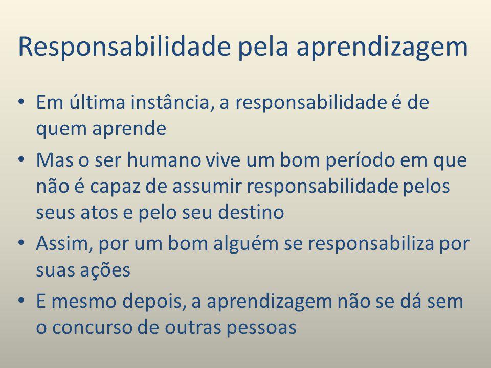 Responsabilidade pela aprendizagem