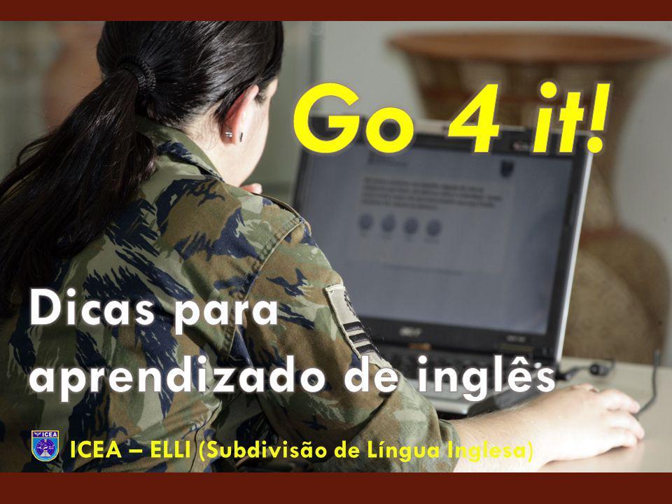 Dicas para aprendizado de inglês