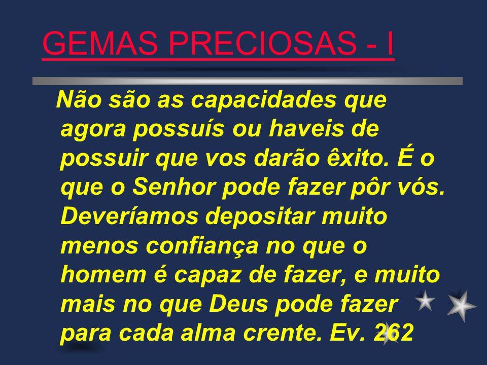 GEMAS PRECIOSAS - I