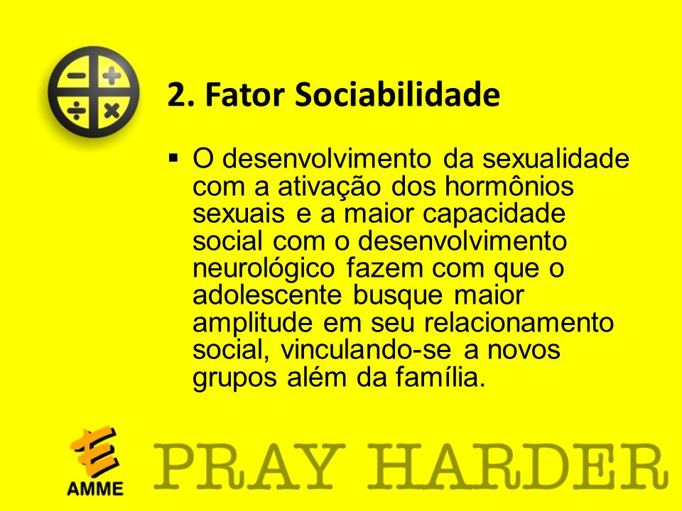 2. Fator Sociabilidade