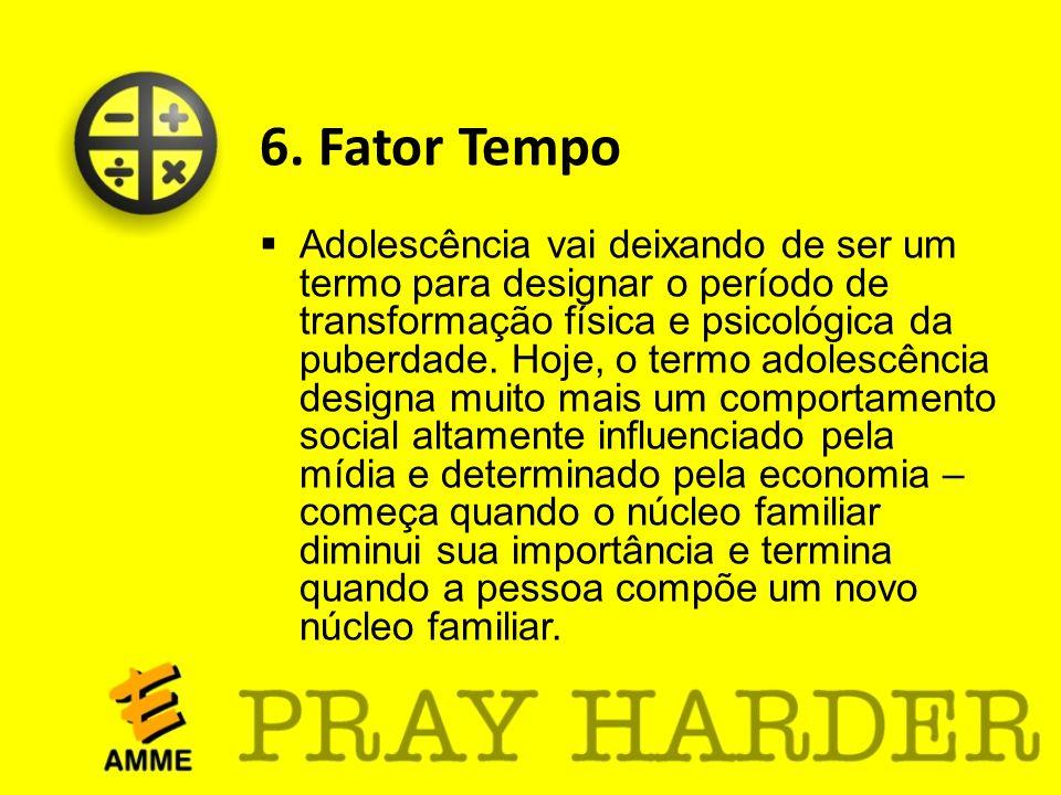 6. Fator Tempo