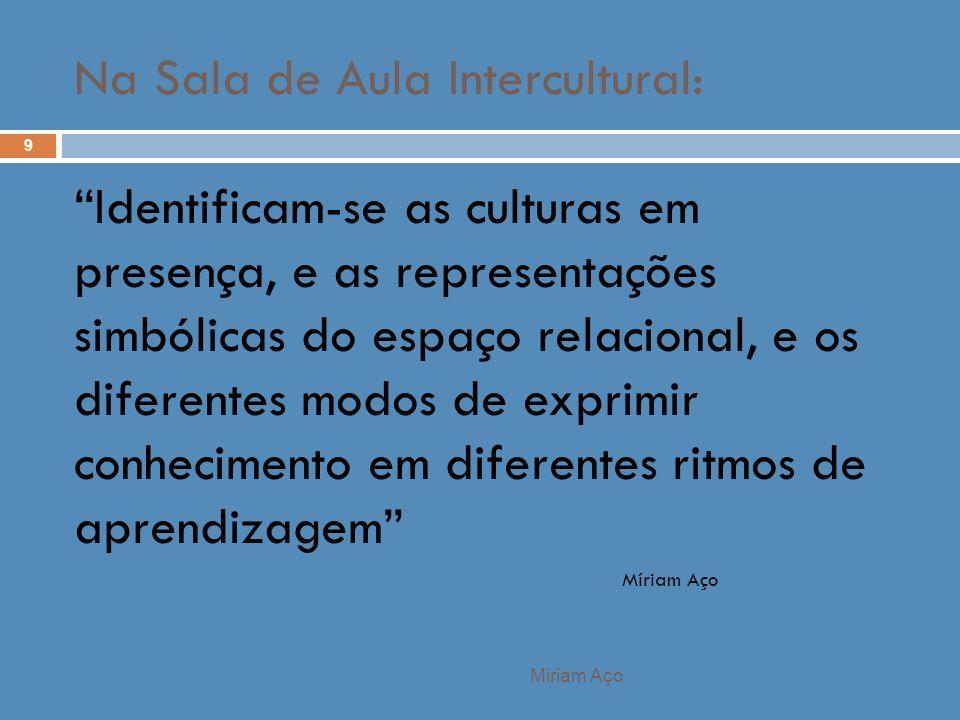 Na Sala de Aula Intercultural: