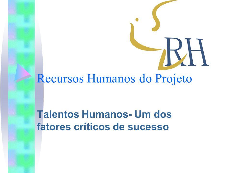 Recursos Humanos do Projeto