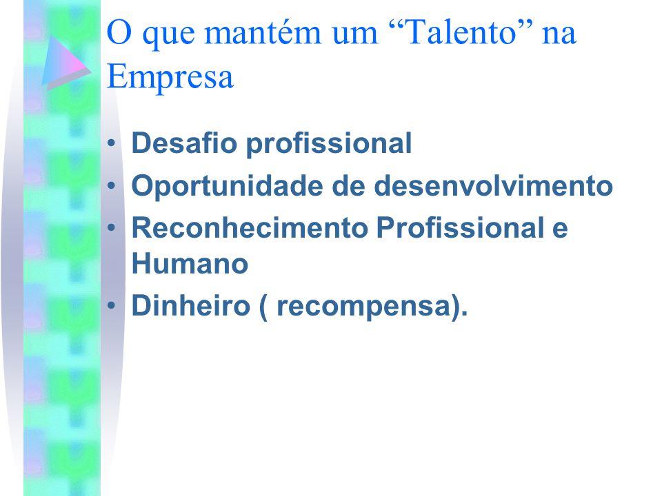 O que mantém um Talento na Empresa