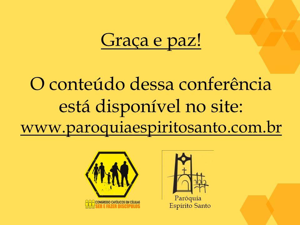 O conteúdo dessa conferência está disponível no site:
