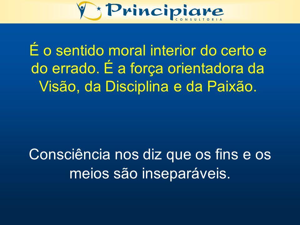 É o sentido moral interior do certo e