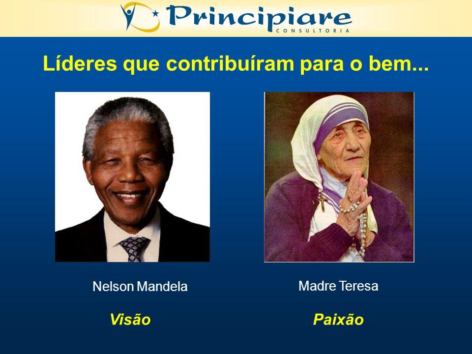 Líderes que contribuíram para o bem...