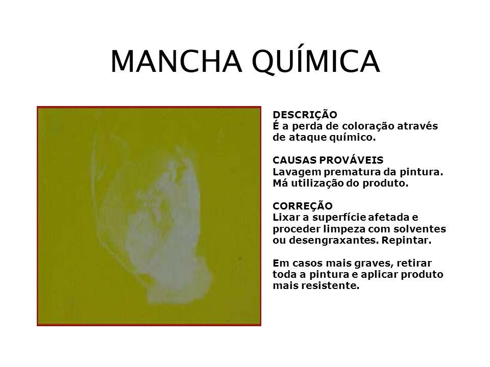 MANCHA QUÍMICA