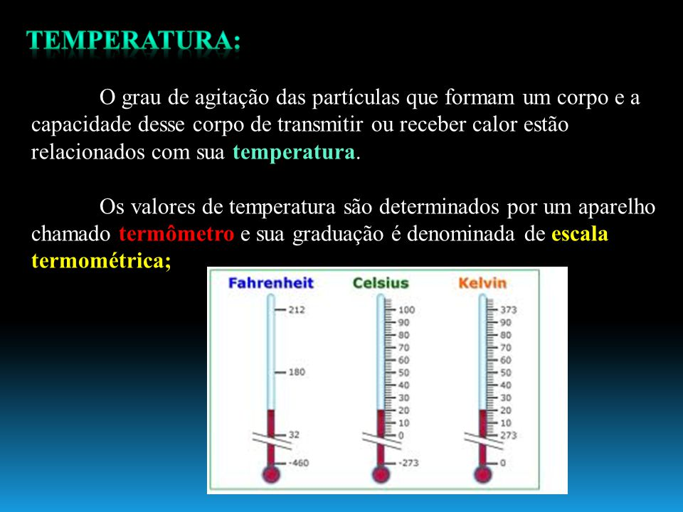 TEMPERATURA:
