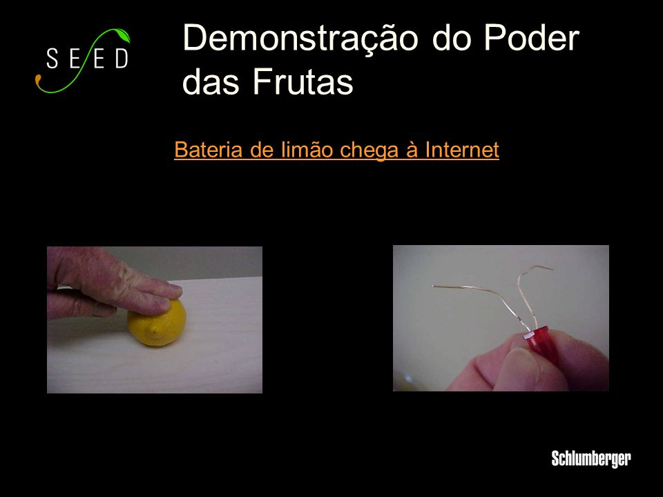 Demonstração do Poder das Frutas