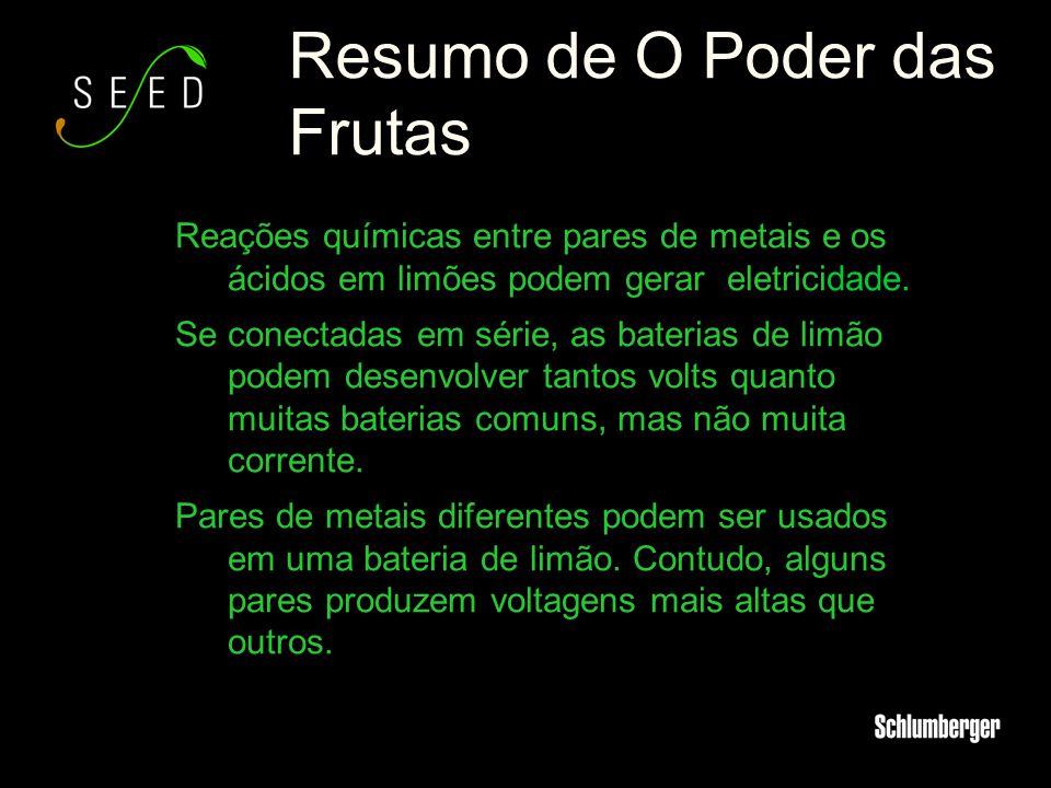 Resumo de O Poder das Frutas