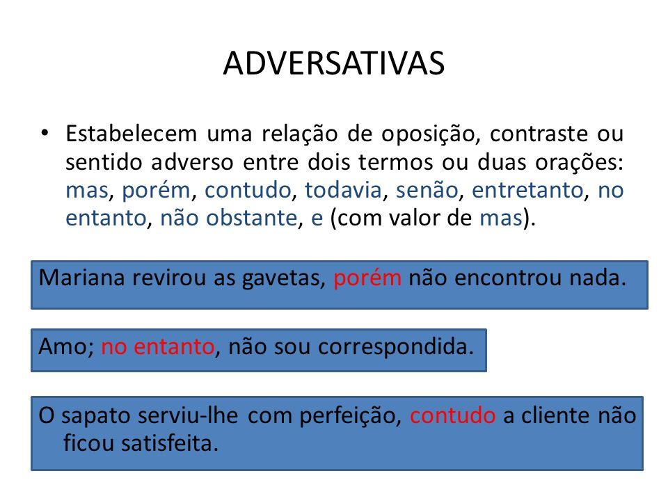 ADVERSATIVAS