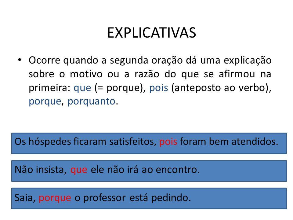 EXPLICATIVAS