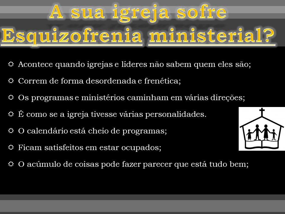 Esquizofrenia ministerial