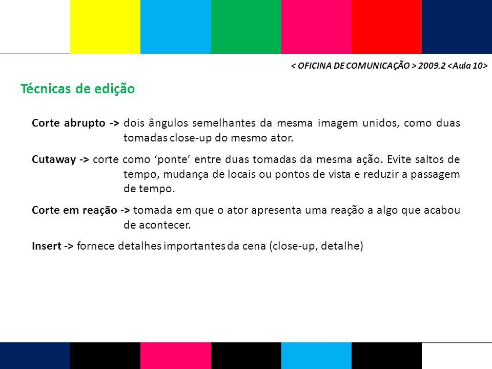 < OFICINA DE COMUNICAÇÃO > 2009.2 <Aula 10>