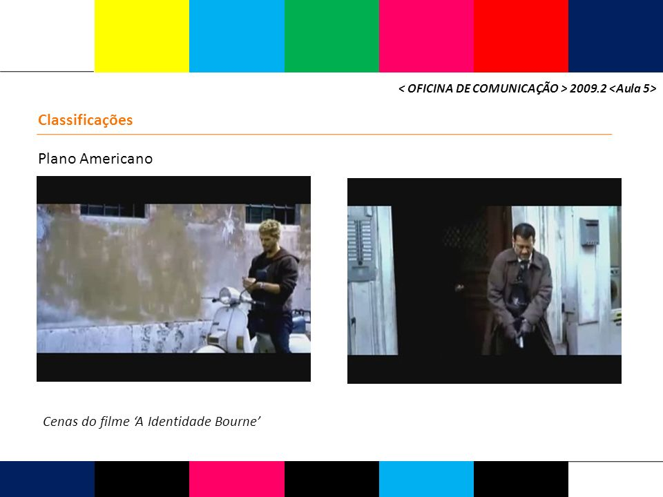 Classificações Plano Americano Cenas do filme 'A Identidade Bourne'
