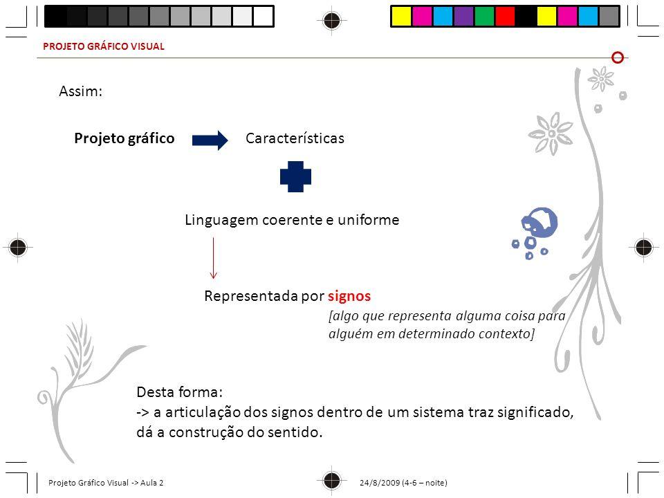 Linguagem coerente e uniforme