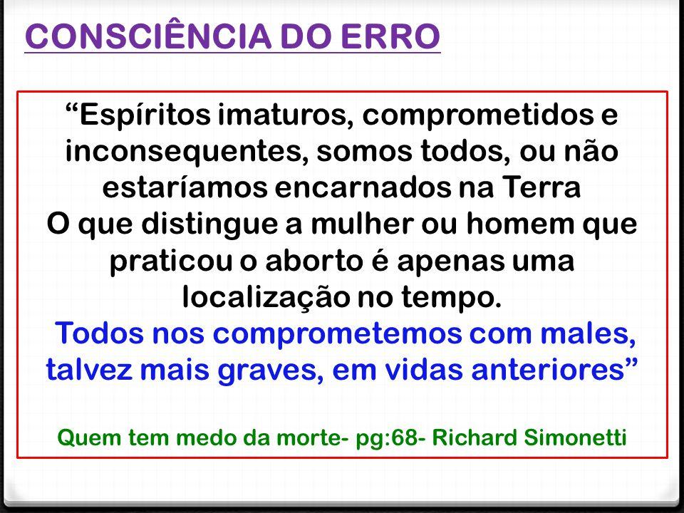 Quem tem medo da morte- pg:68- Richard Simonetti