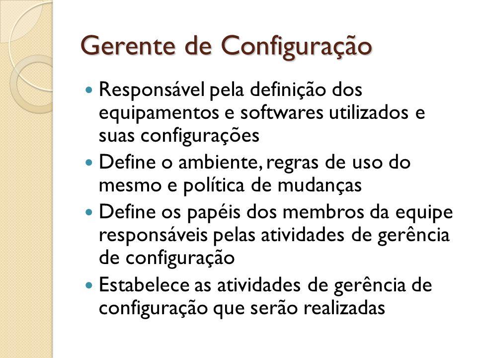 Gerente de Configuração