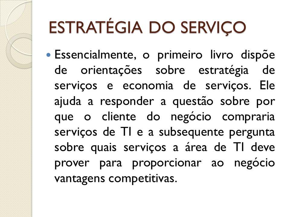 ESTRATÉGIA DO SERVIÇO