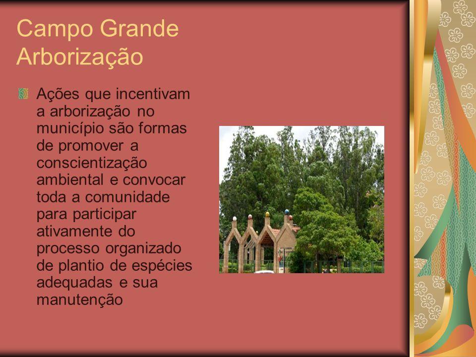 Campo Grande Arborização