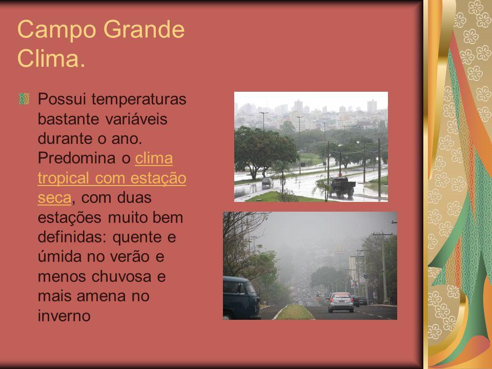 Campo Grande Clima.