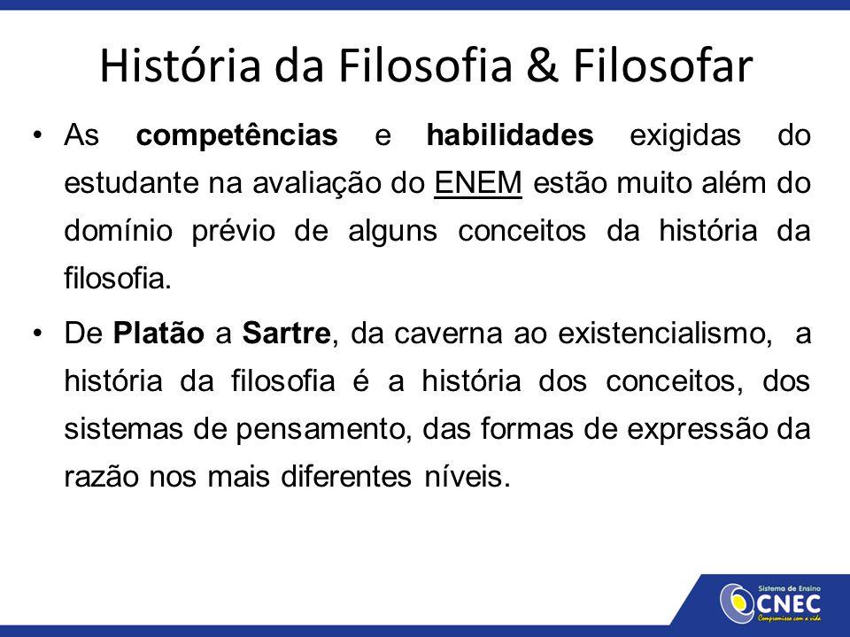 História da Filosofia & Filosofar