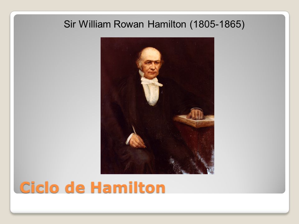 Sir William Rowan Hamilton (1805-1865)