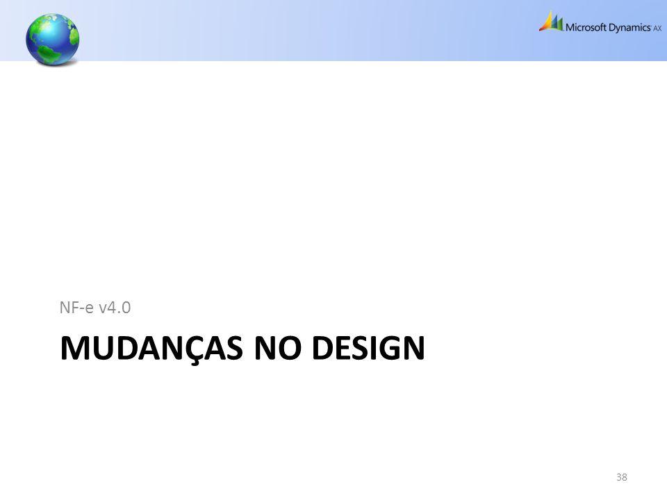 NF-e v4.0 Mudanças no design