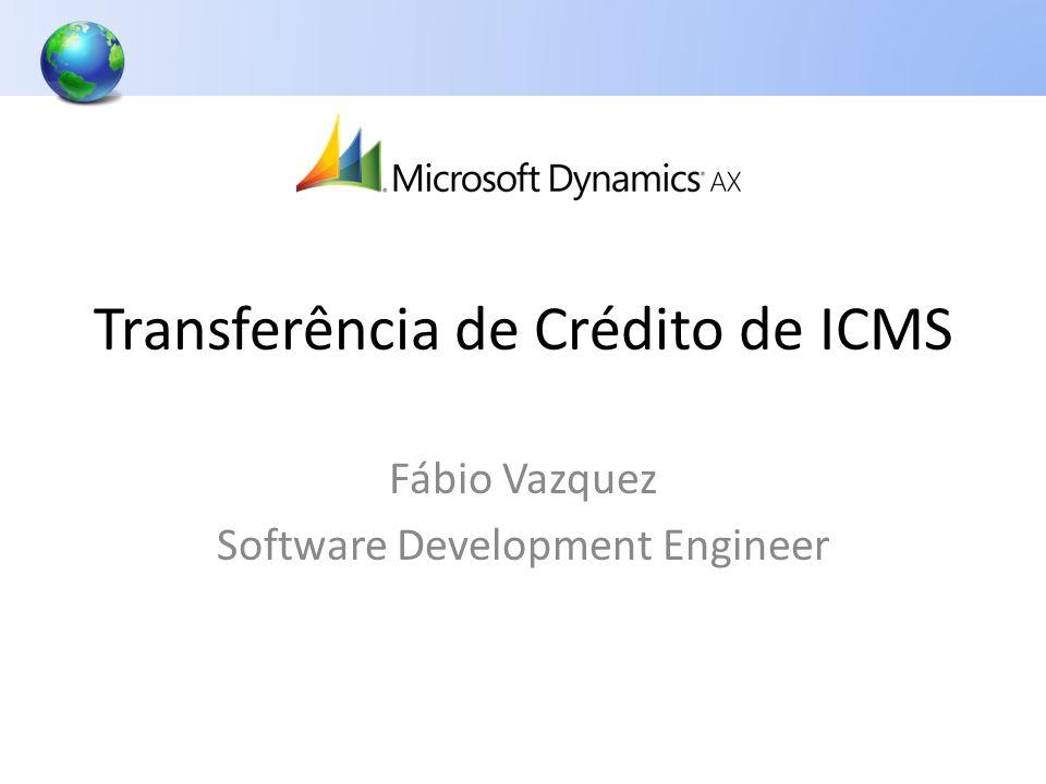 Transferência de Crédito de ICMS