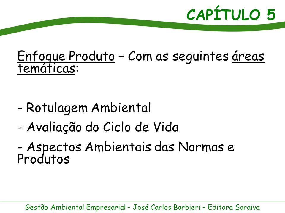Enfoque Produto – Com as seguintes áreas temáticas: