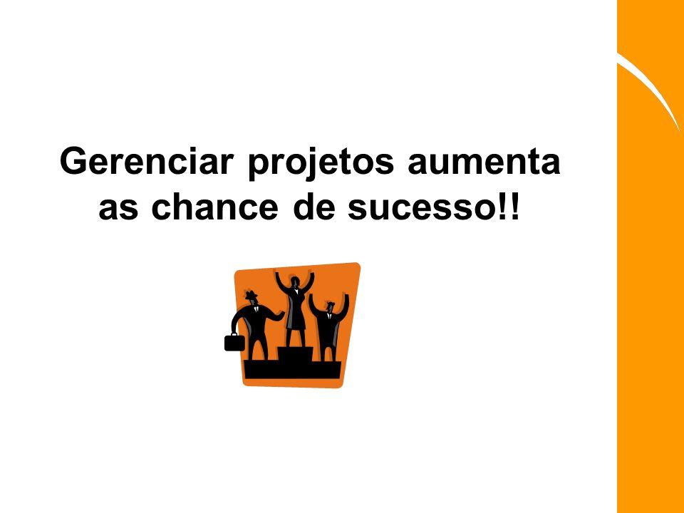 Gerenciar projetos aumenta as chance de sucesso!!