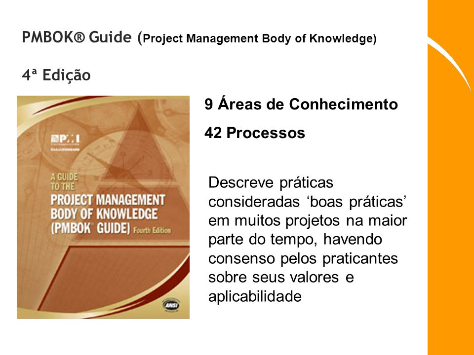 PMBOK® Guide (Project Management Body of Knowledge) 4ª Edição