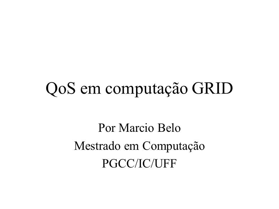 Por Marcio Belo Mestrado em Computação PGCC/IC/UFF