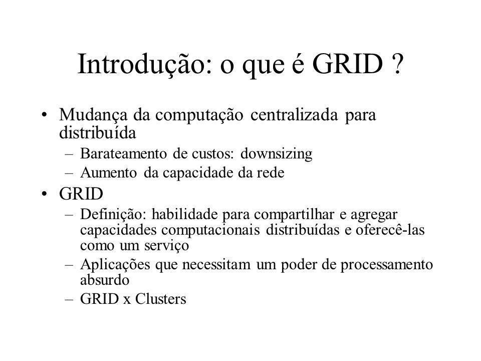 Introdução: o que é GRID