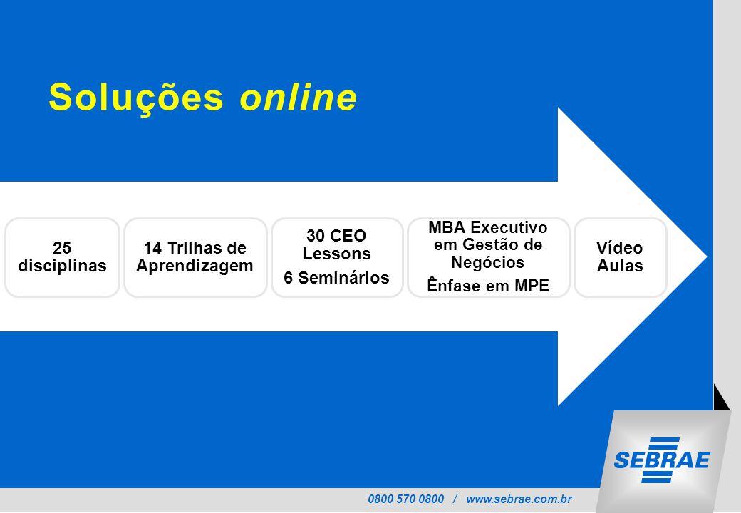 14 Trilhas de Aprendizagem MBA Executivo em Gestão de Negócios