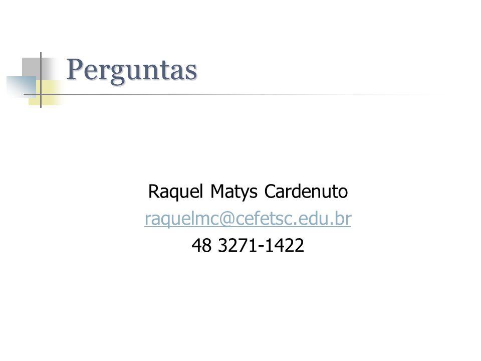 Raquel Matys Cardenuto