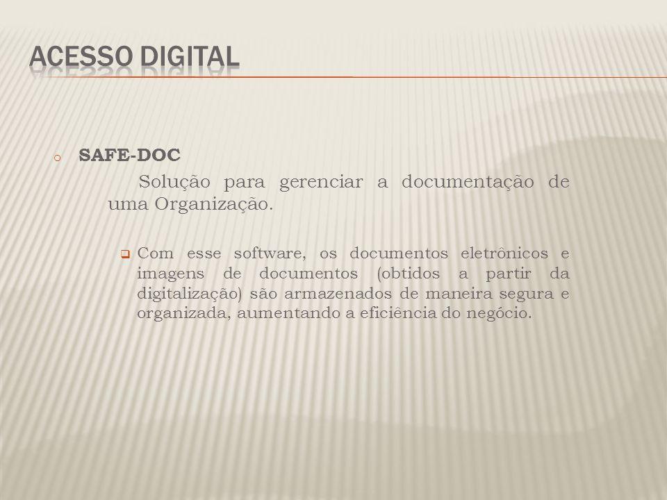 ACESSO DIGITAL SAFE-DOC